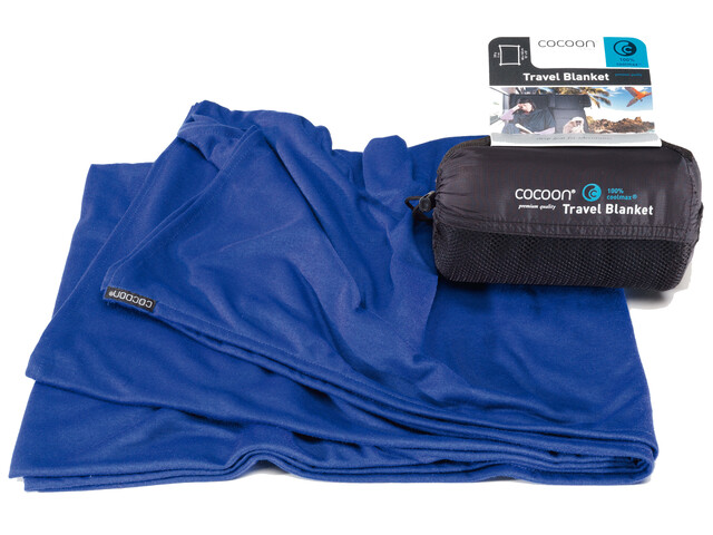 Cocoon Travel Blanket - CoolMax bleu